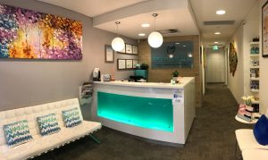 Top Class Dental clinic reception